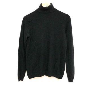 Uniqlo Black cashmere turtleneck w